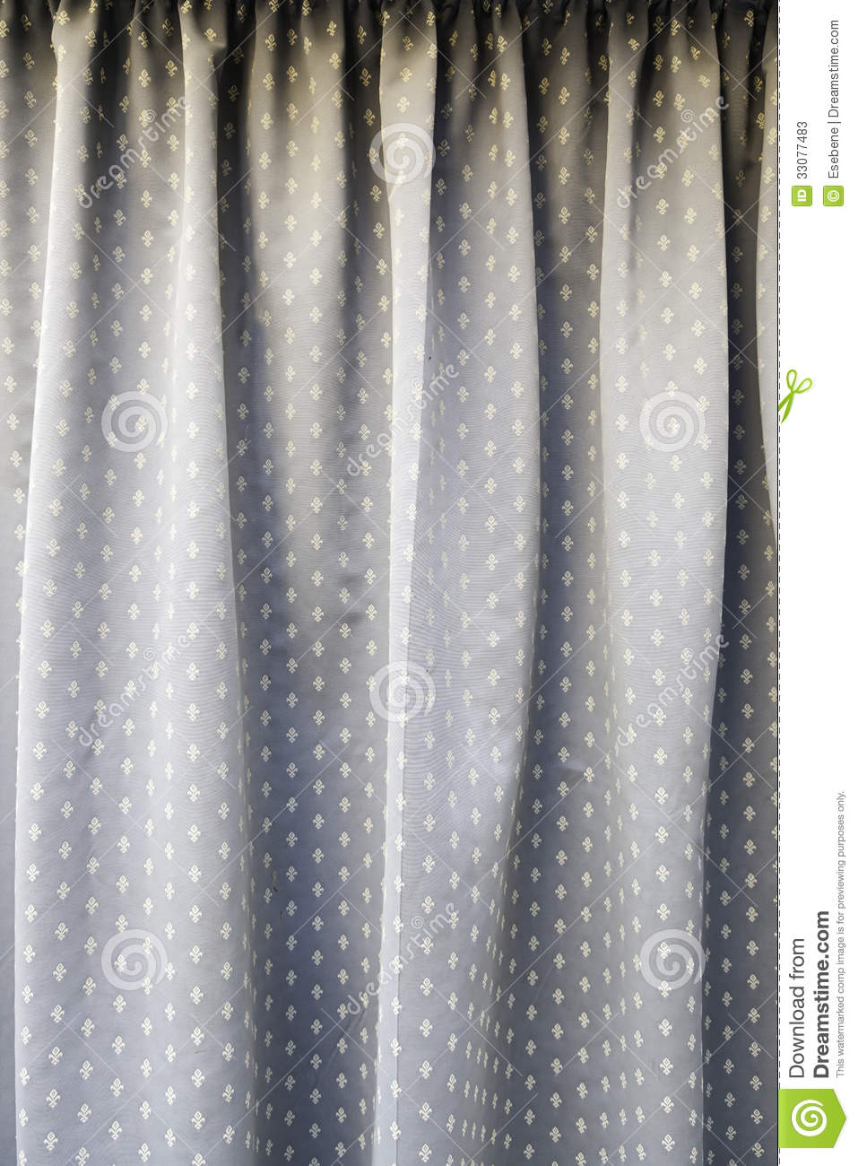 old curtain fabric stock photos