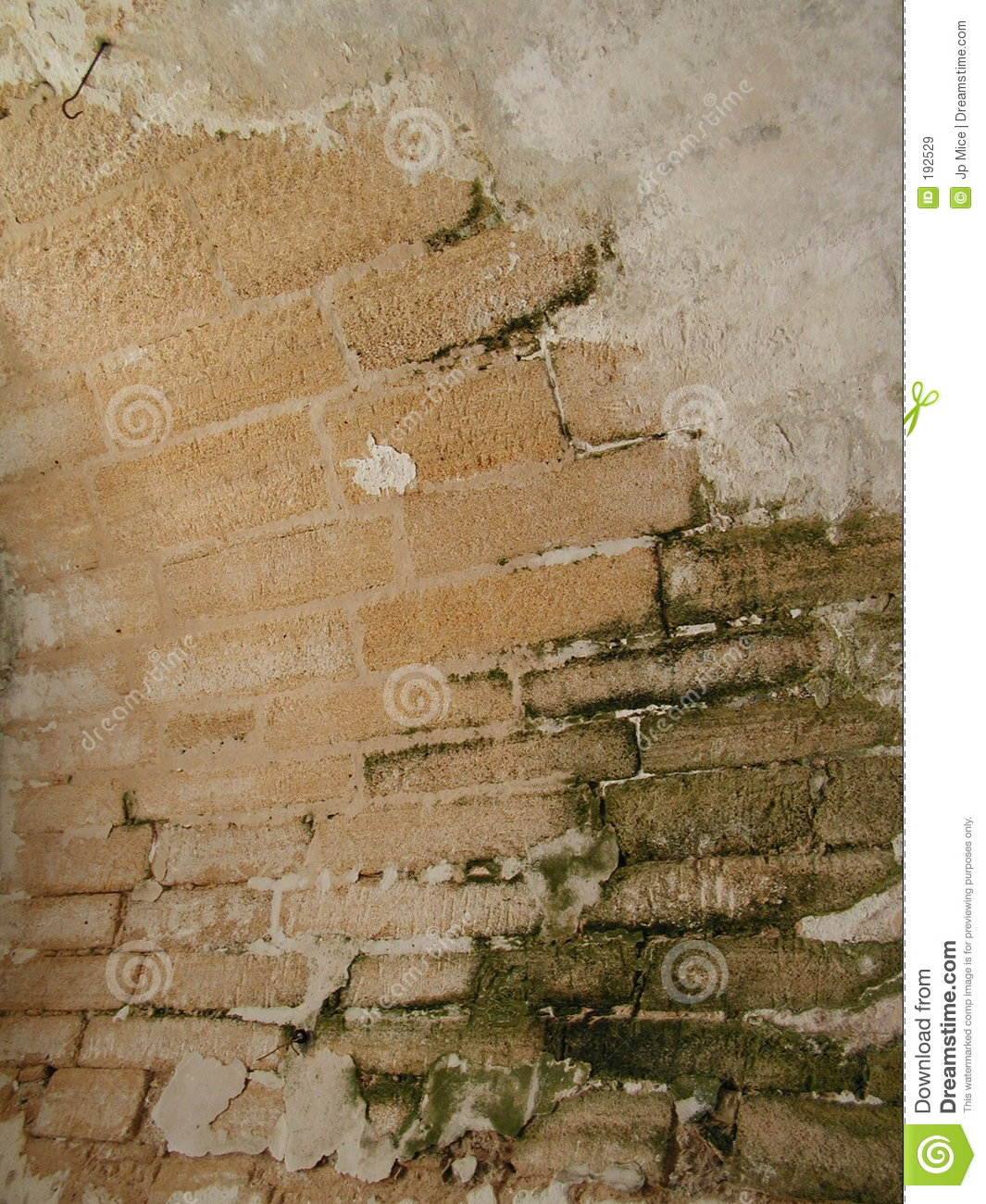 Old Curved Brick Wall Royalty Free Stock Images Image