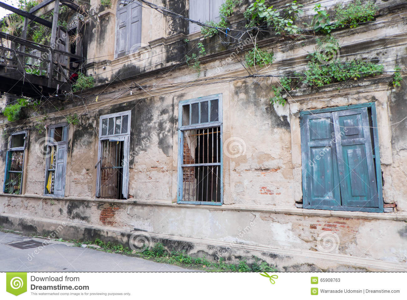 The Old Customs House, Thailand Stock Photo - Image: 65908763