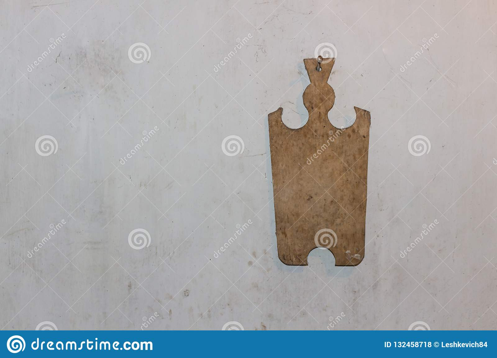 Old Cutting Board Hanging On The Wall Background Stock Photo Image Of Texture Object 132458718