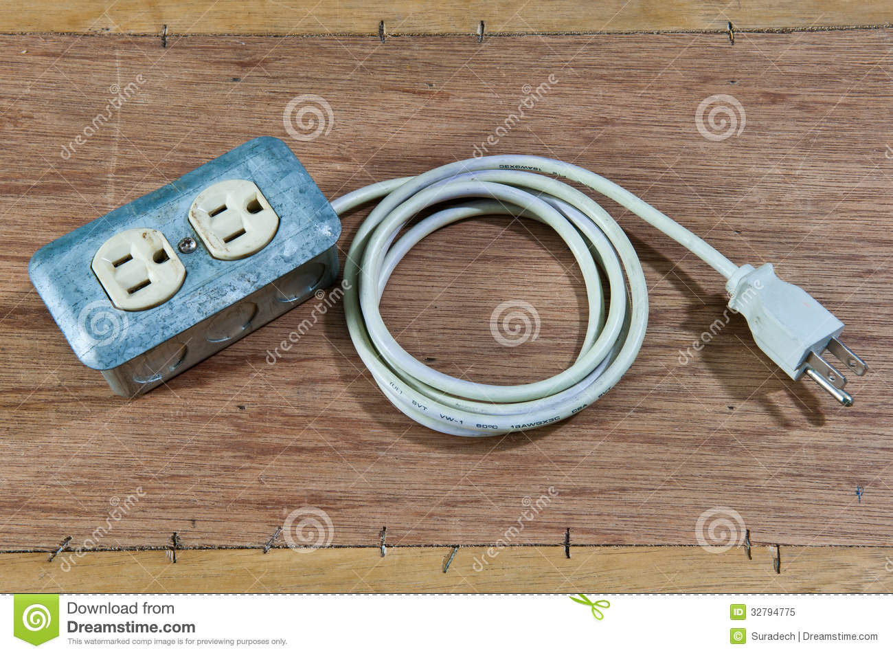 how to produce electricity at home from extension cord