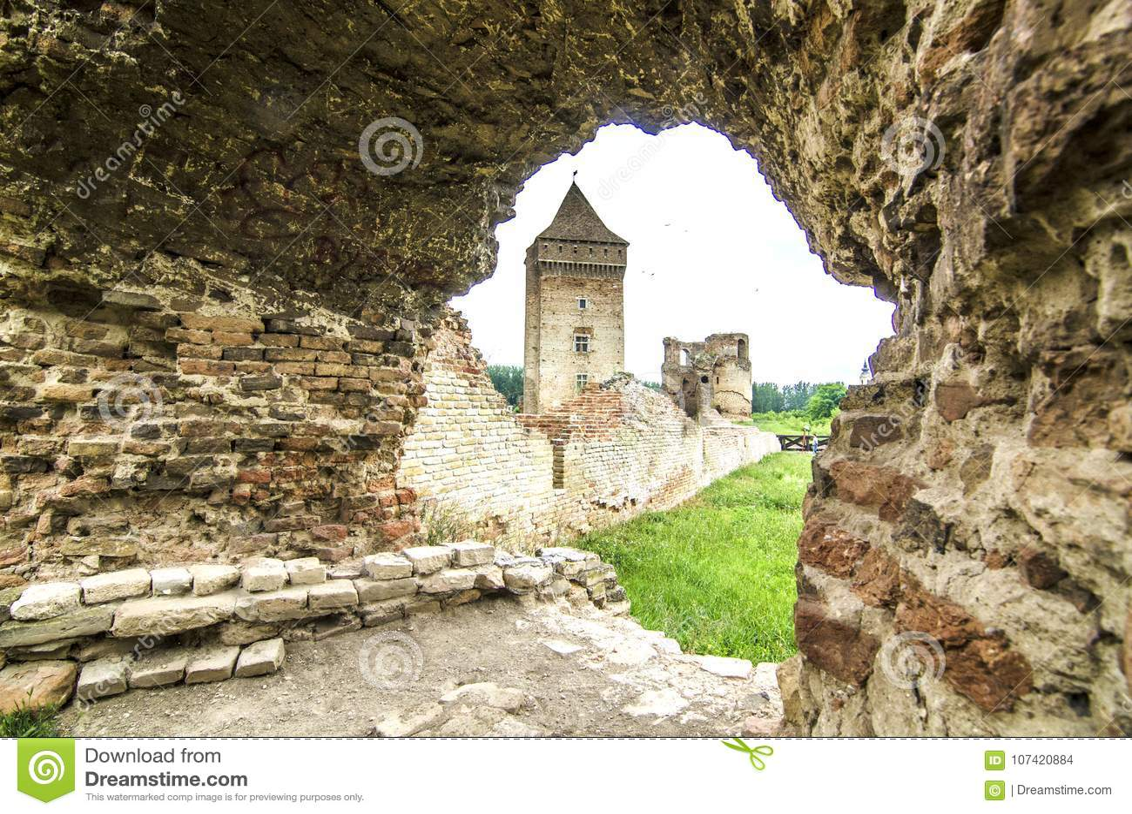 Old rustic castle