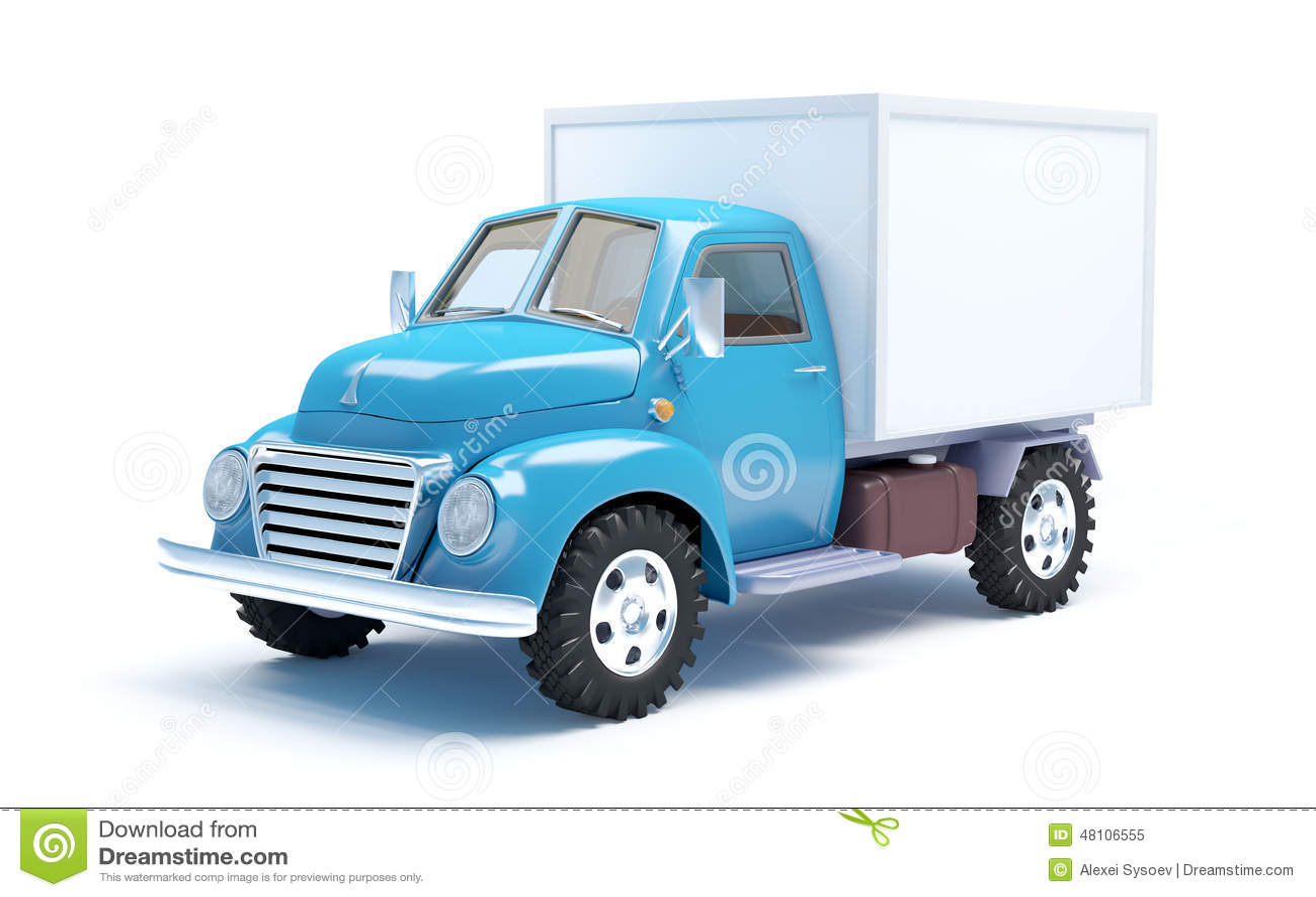 Vintage Delivery Truck 108