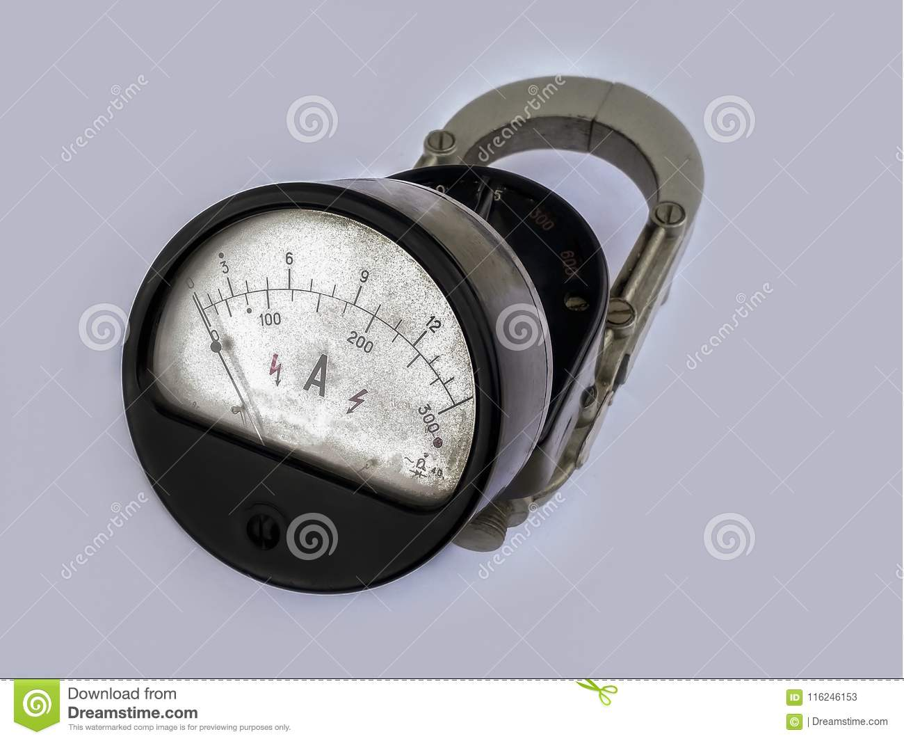 Old device, ammeter Soviet times