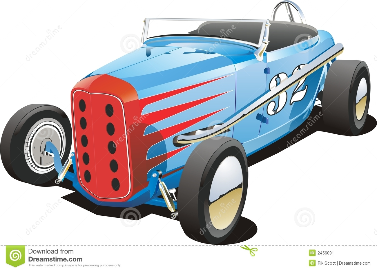 Old dirt track race car stock vector. Illustration of track - 2456091