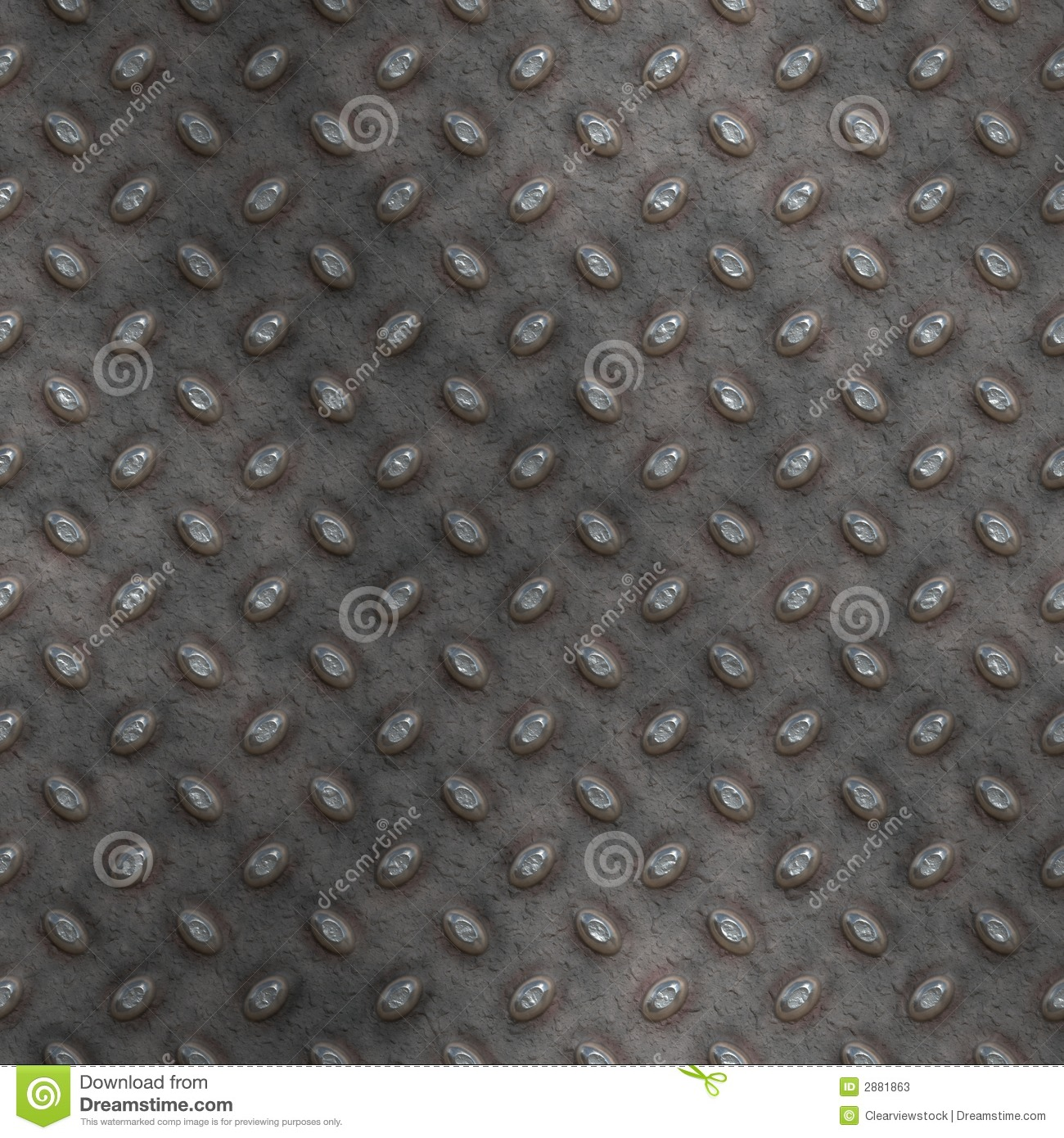 Old Dirty Diamond Plate Background Stock Vector