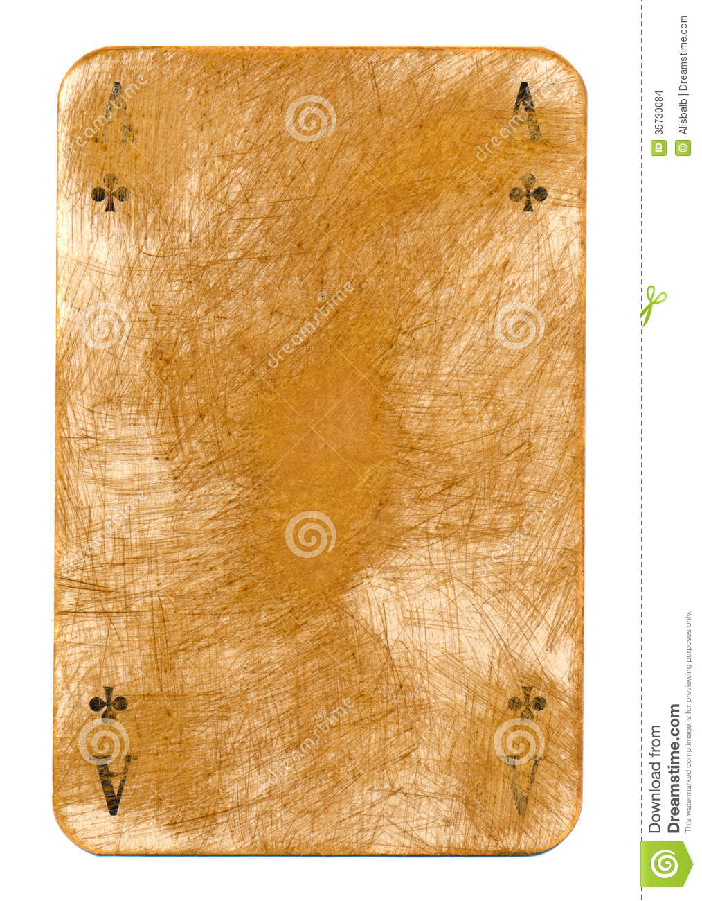 old dirty grubby playing card paper background stock