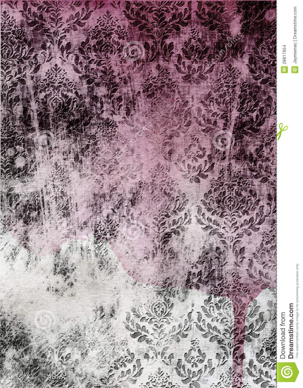 old distressed wall paper stock images