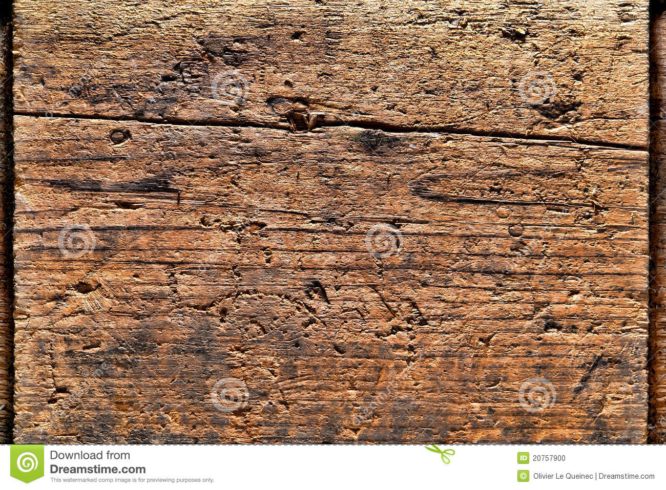 Old Distressed Wood Plank Background Stock Photo Image