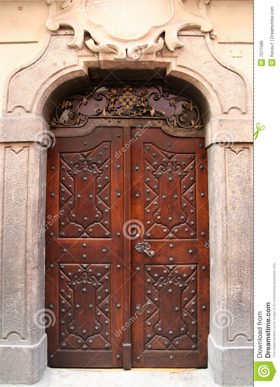 Old door royalty free stock image image 7071586 for Door z prague