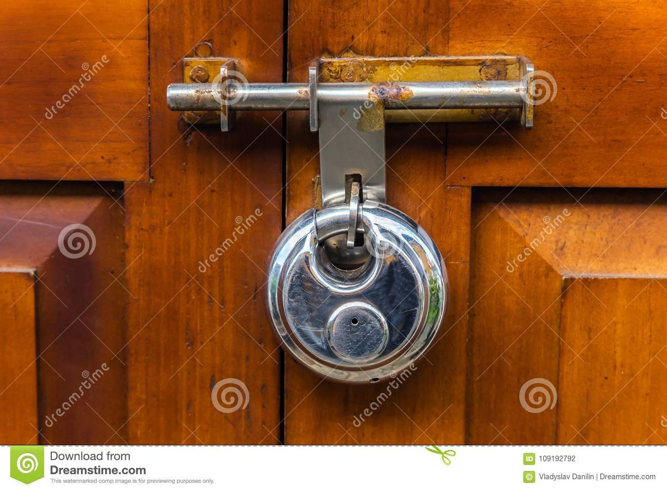 Old door handle fashioned locks stock photo image of - Old fashioned interior door locks ...