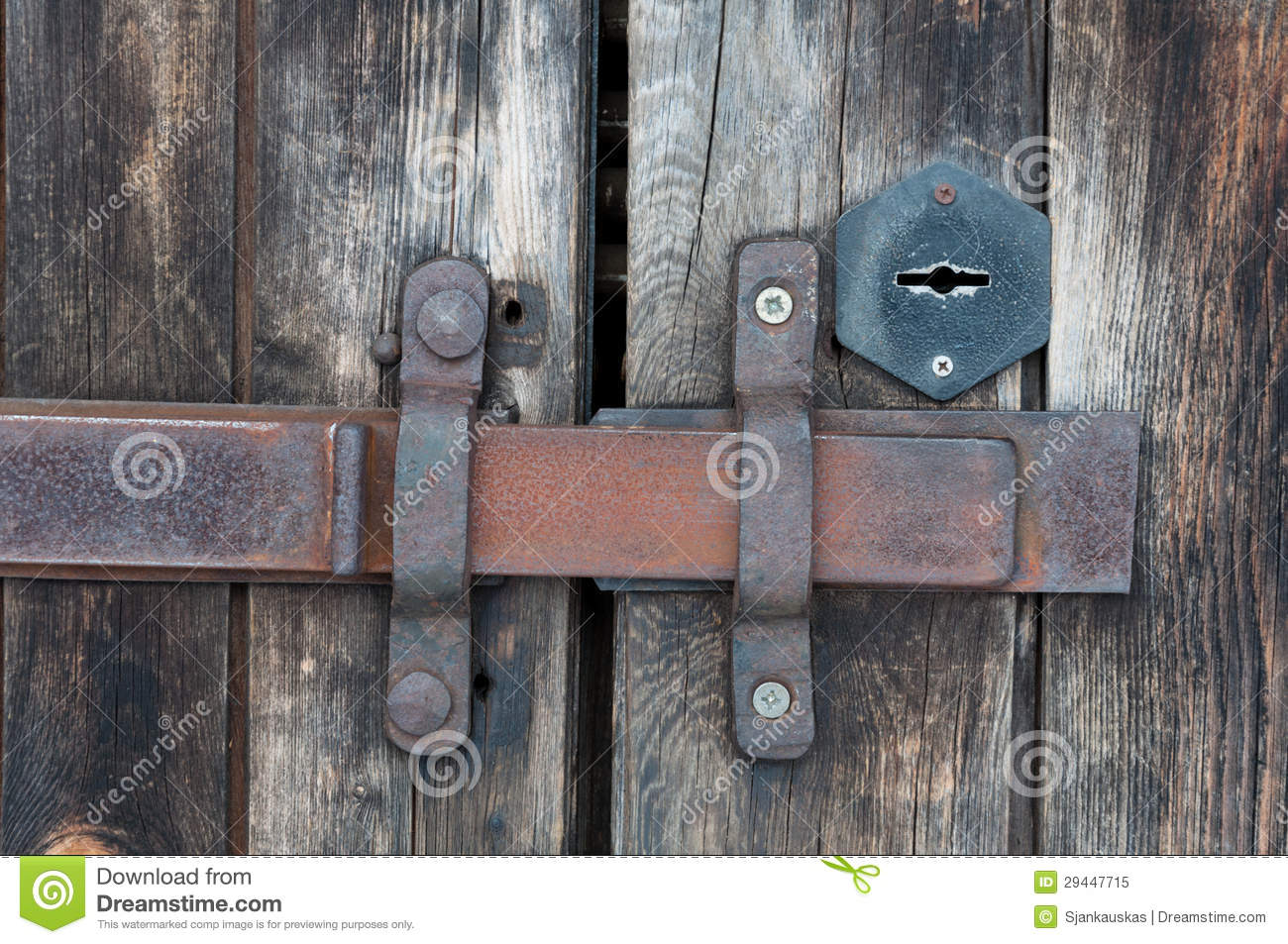 Old Door Latch Royalty Free Stock Photo Image 29447715