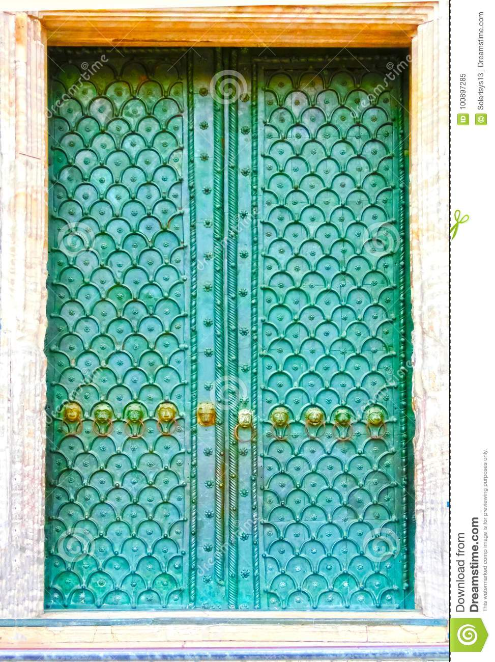 Old Door To Different Concepts: Restore, Solution