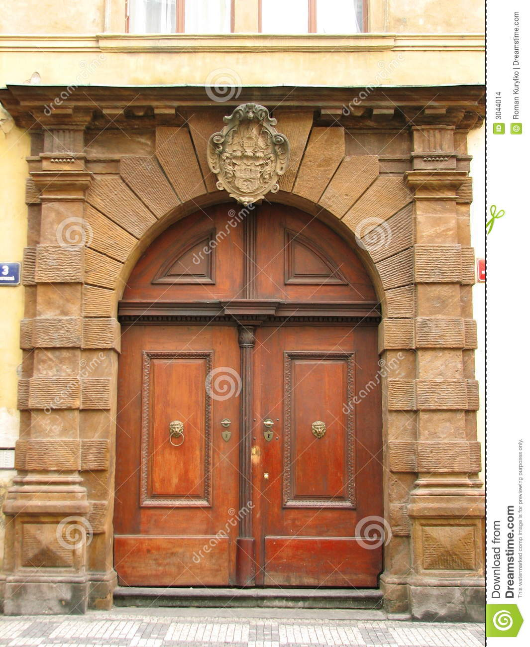 Old doors prague stock images image 3044014 for Door z prague