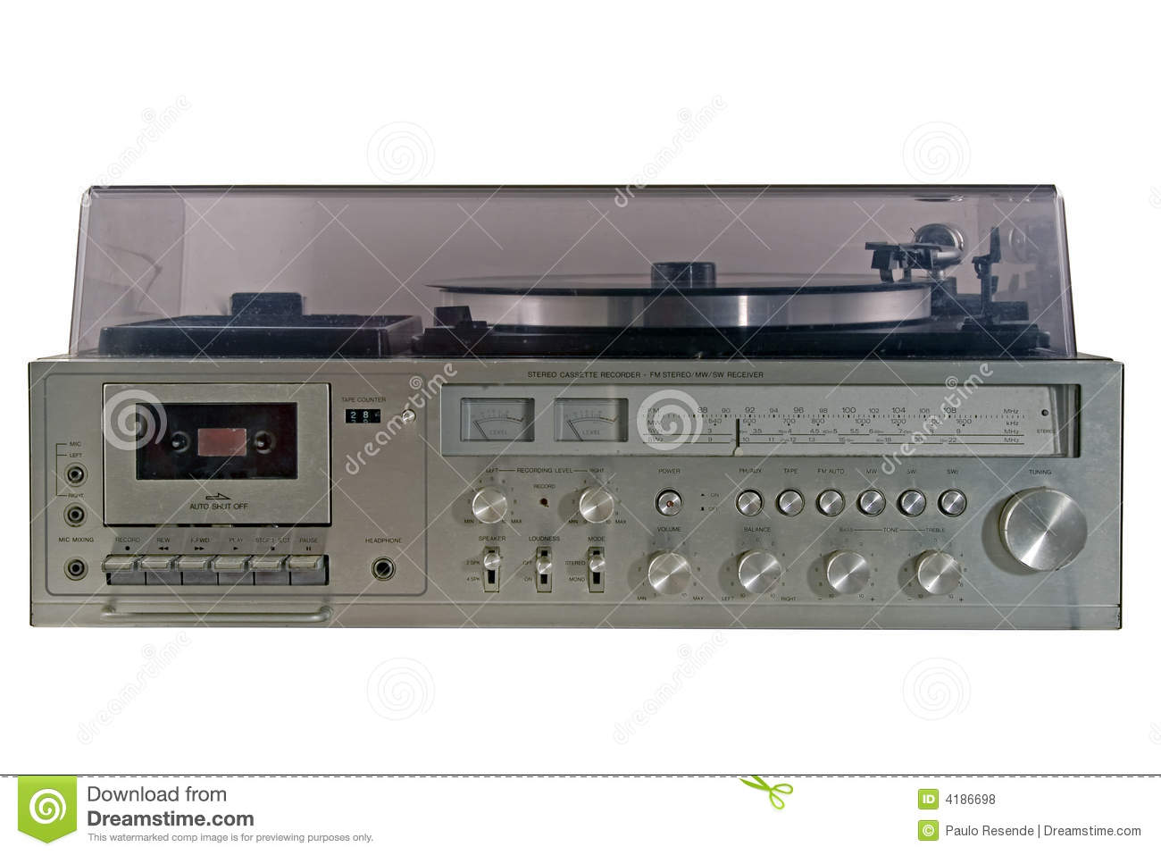 Old durty stereo