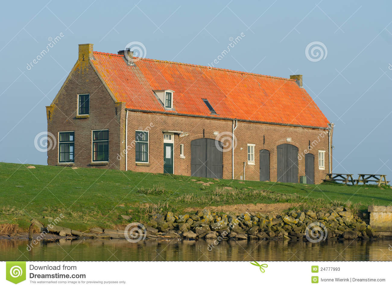 old dutch farmhouse stock image image of netherlands