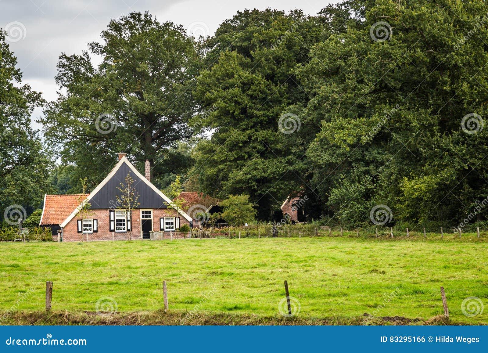 Old Dutch Farmhouse Royalty Free Stock Image