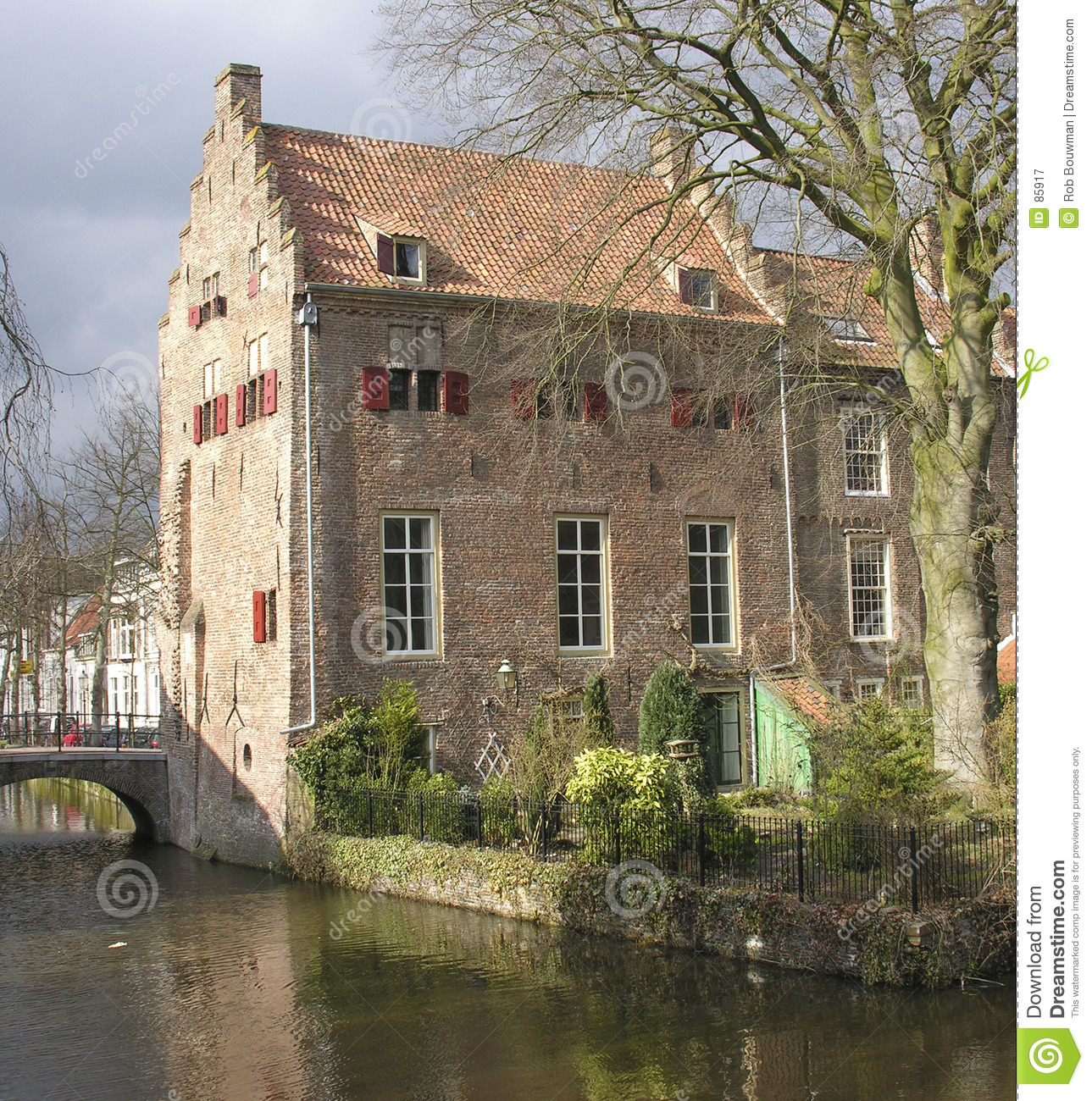 Old dutch house royalty free stock photography image 85917 for Classic dutch house of 60m2