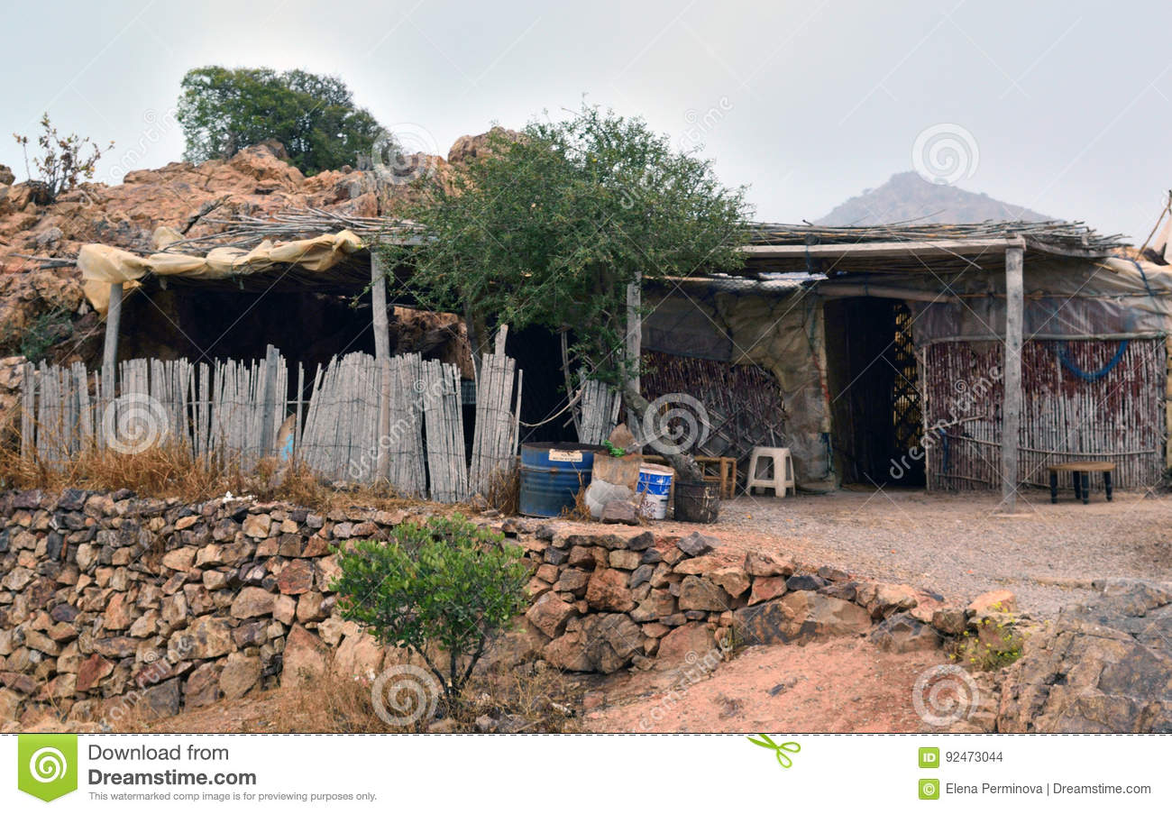 Old dwelling of the indigenous population of Morocco - Berbers
