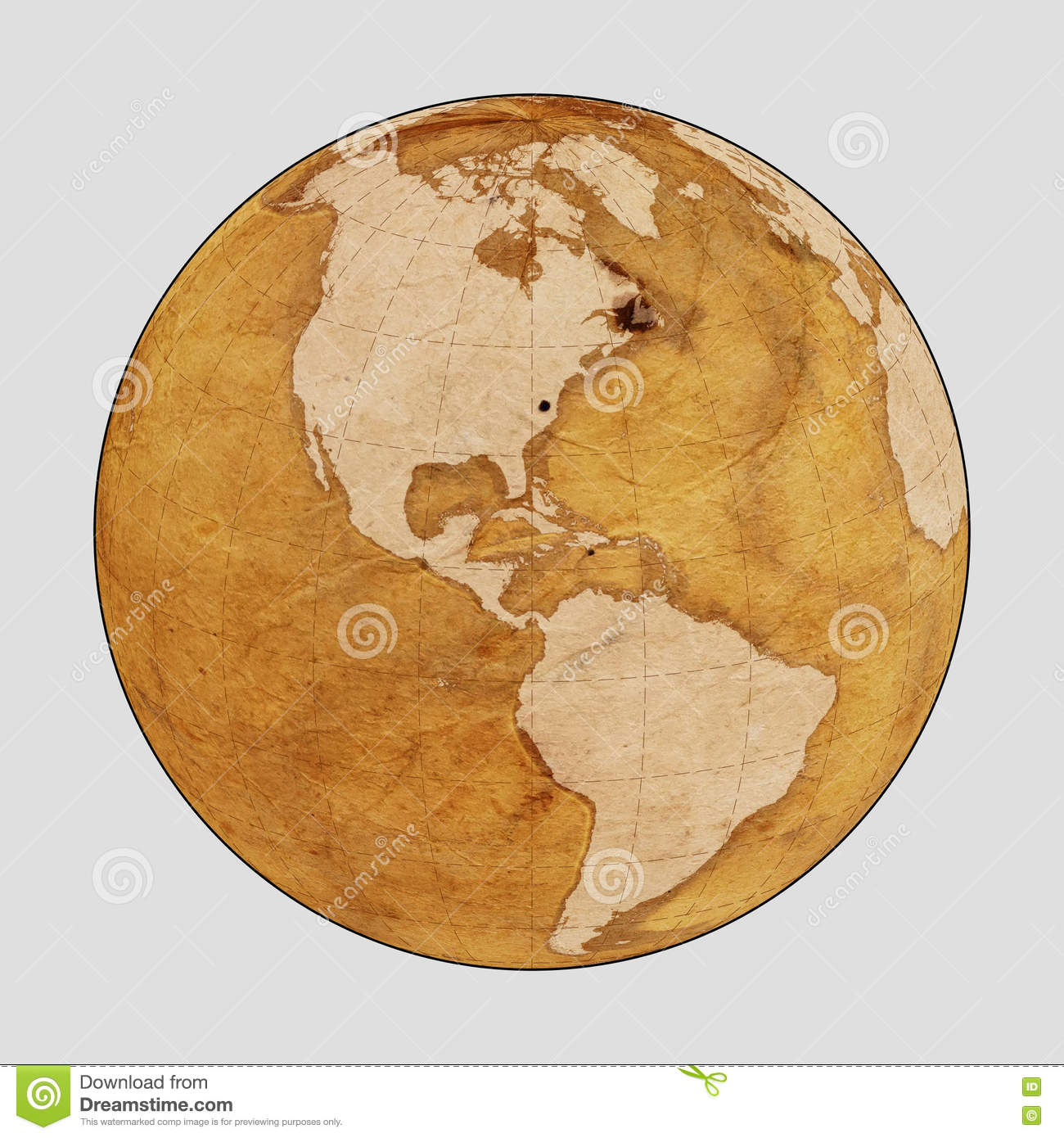 Old Earth World Map Plain Stock Image Image Of Country 73041031