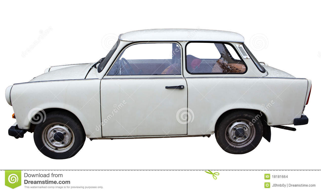 An Old East German Car Stock Images