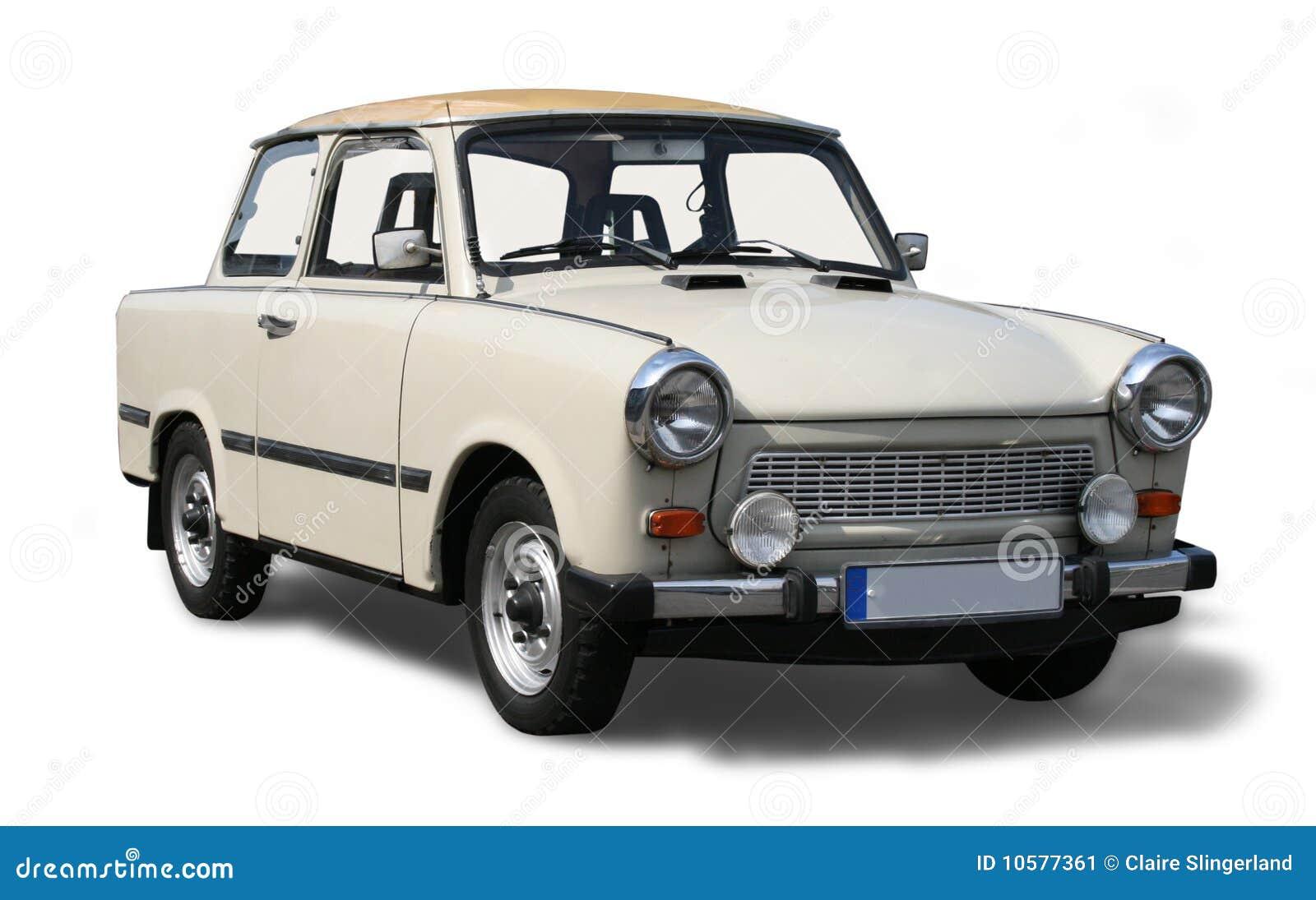 Old Eastern European car. stock image. Image of vintage - 10577361