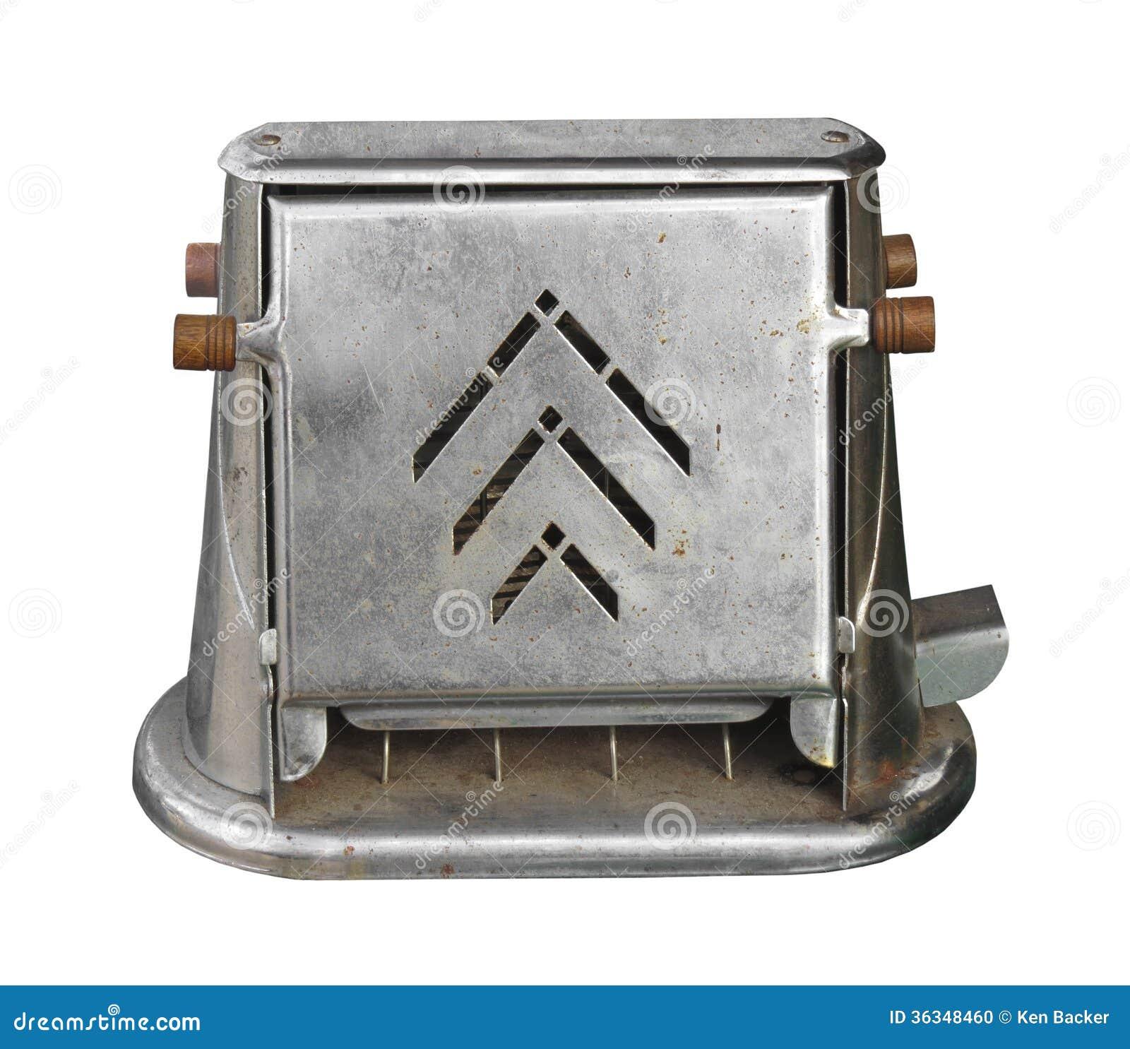 Old Fashioned Metal Bread Bin