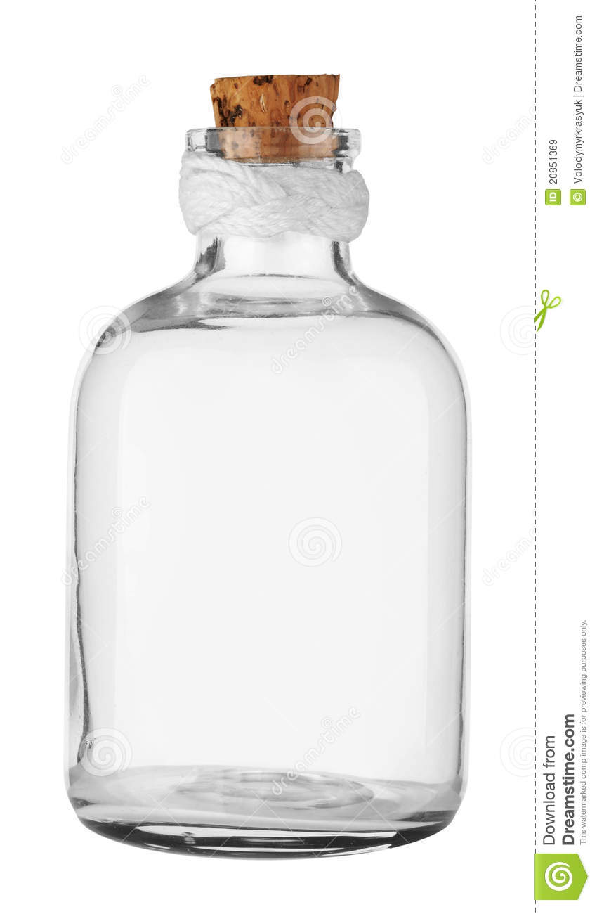 Old Empty Bottle Royalty Free Stock Images - Image: 20851369