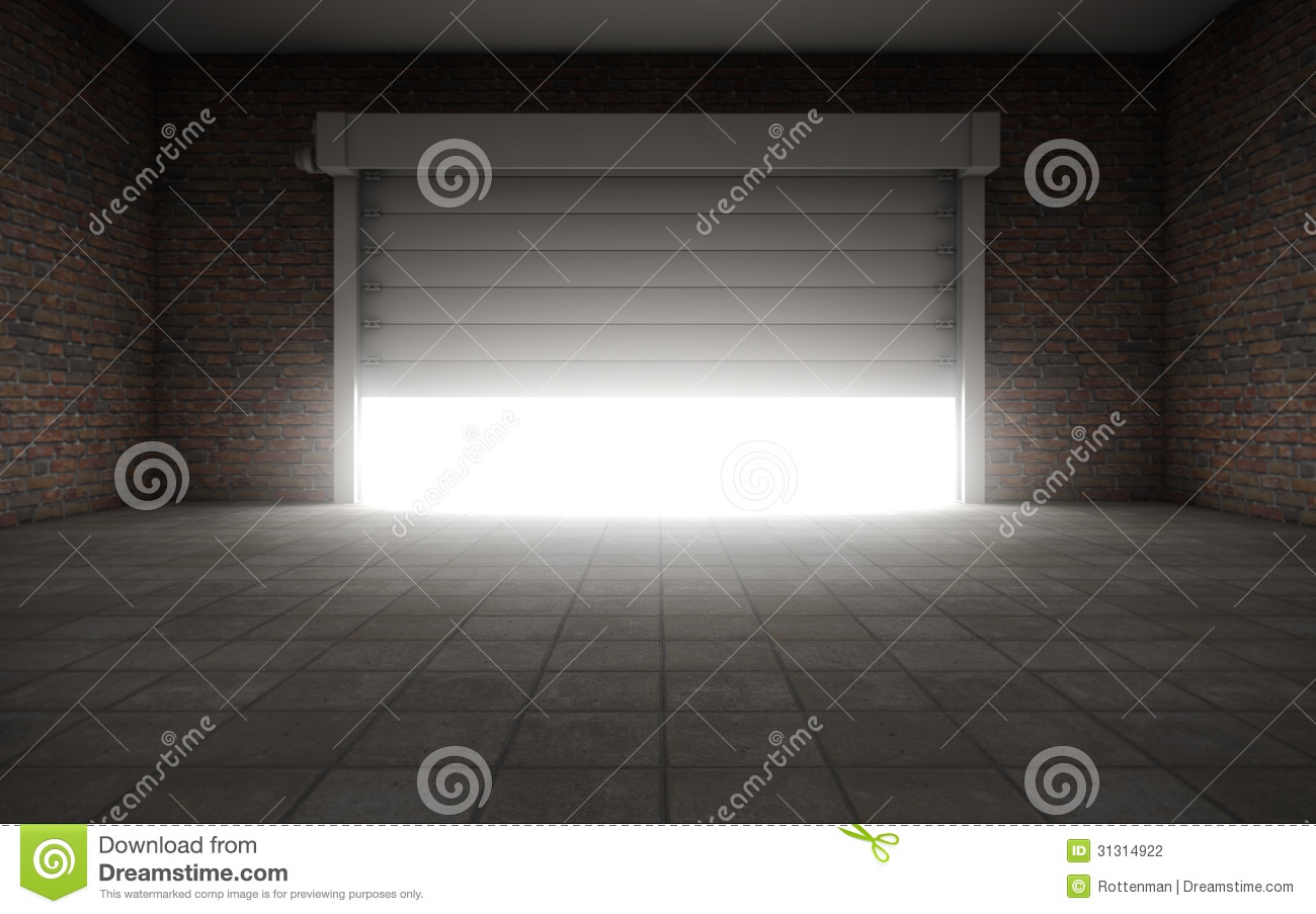 Old Empty Garage Stock Photography Image 31314922
