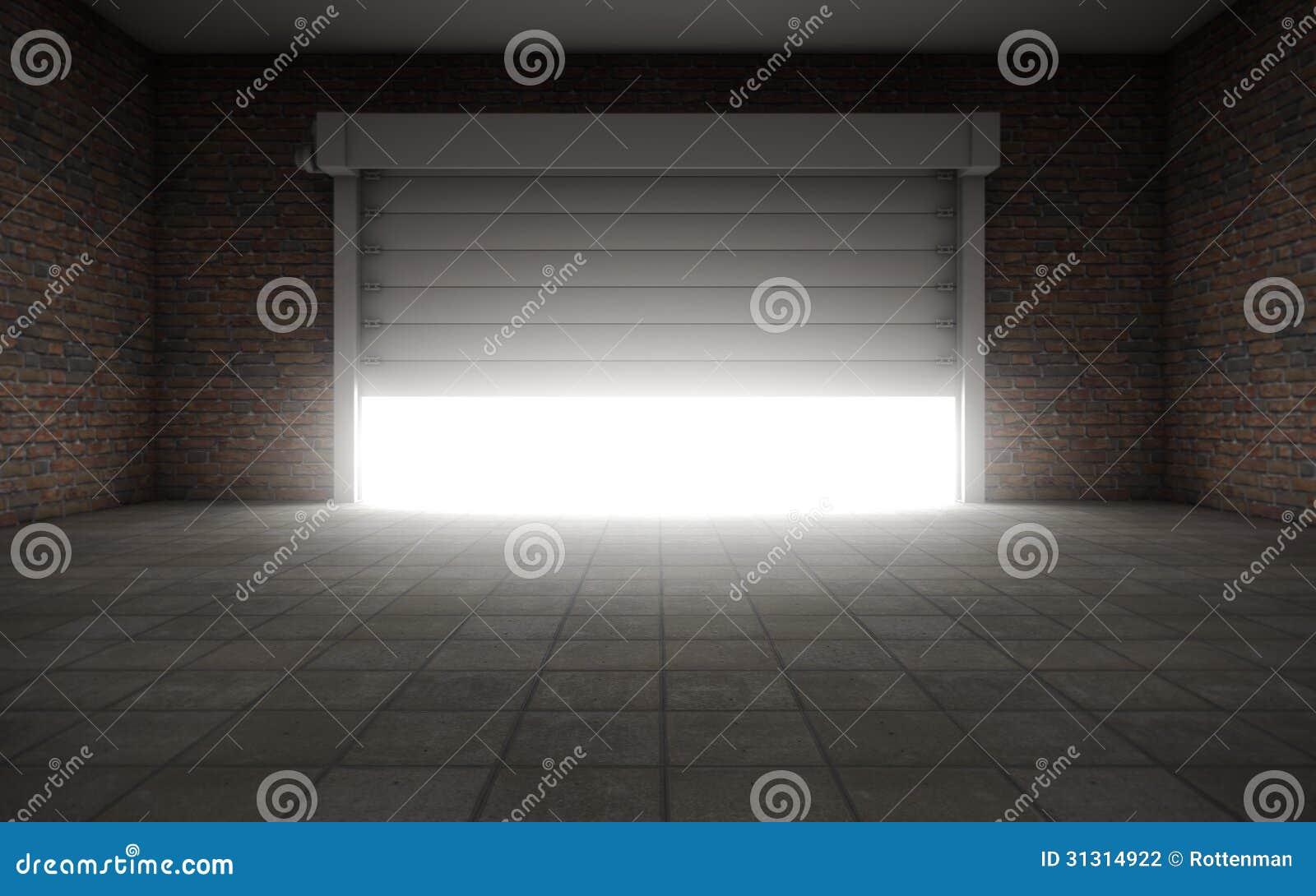 Old Empty Garage Stock Photography Image 31314922