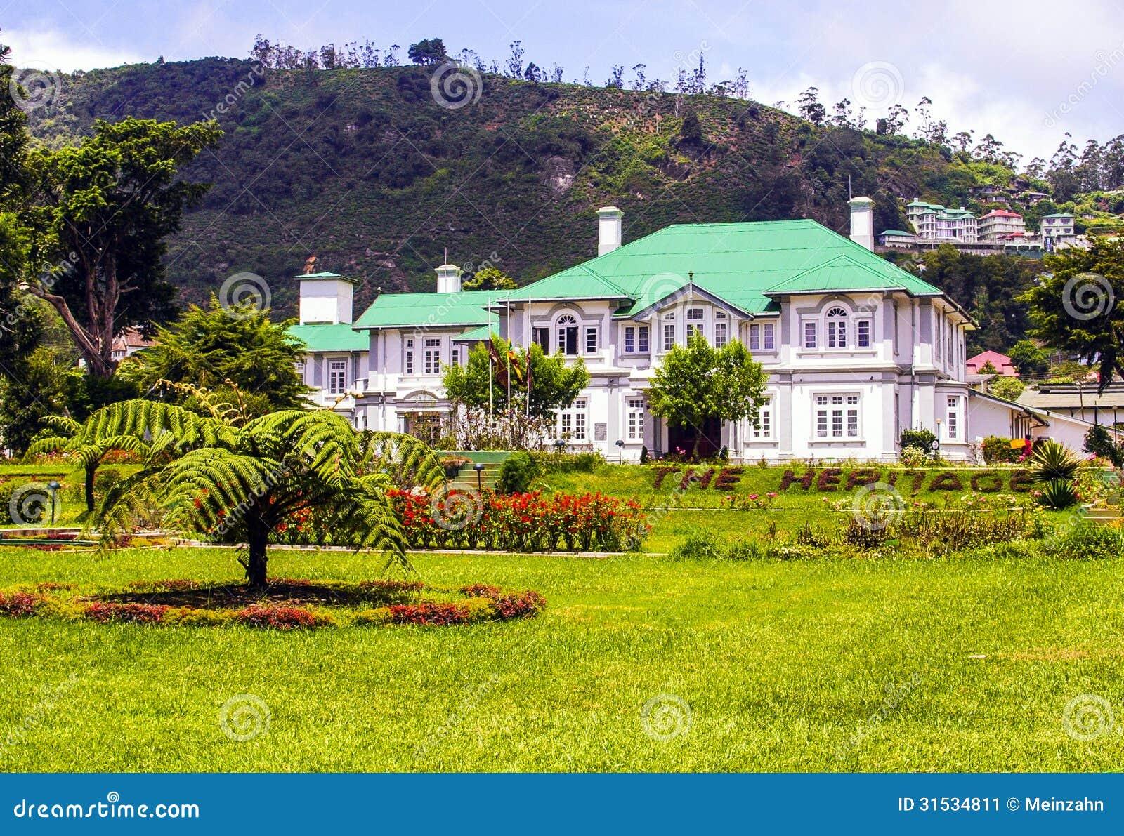 Old english colonial style hotel in nuwara eliya sri for Style hotel