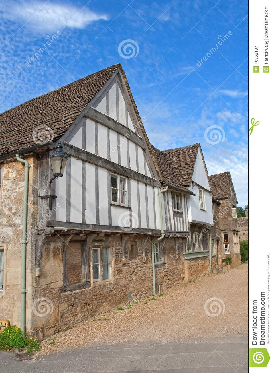Old english house royalty free stock photography image for Classic english house