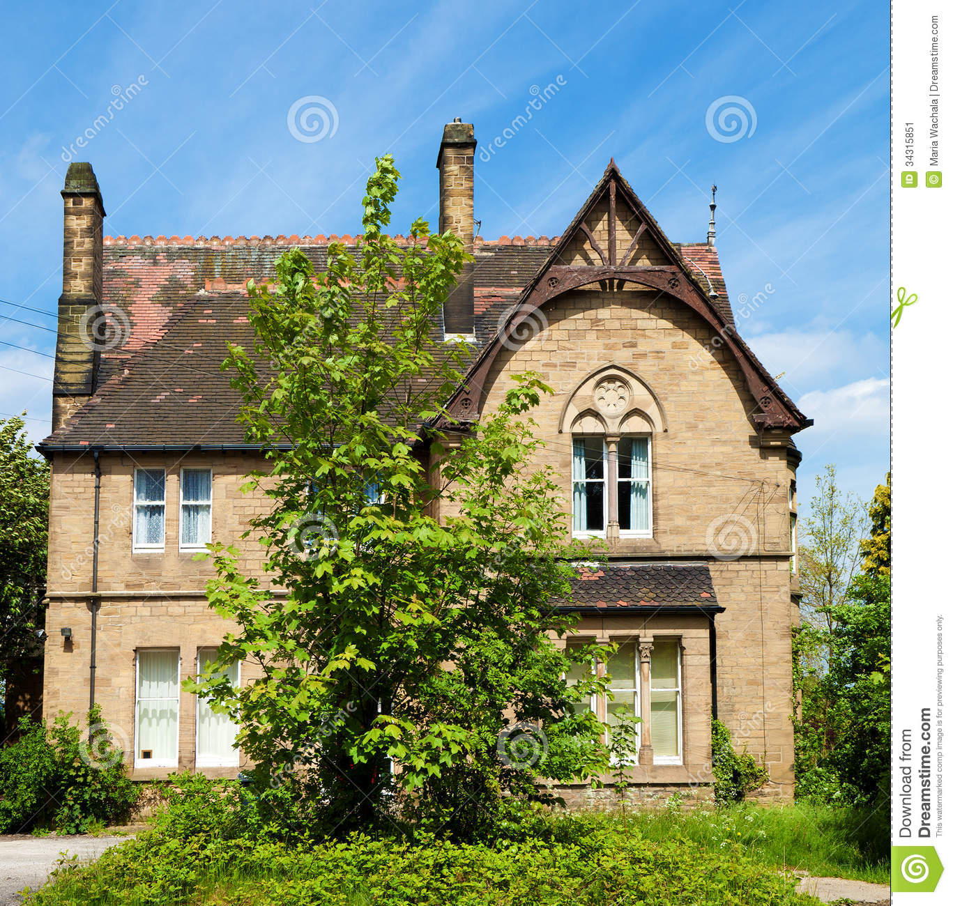 Old english house stock image image of estate style for Classic english house