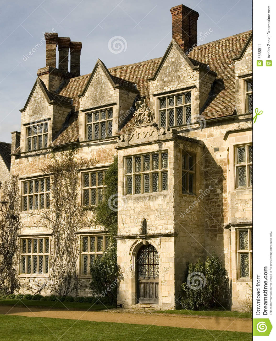 Old english manor house stock image image of stately for Classic english house
