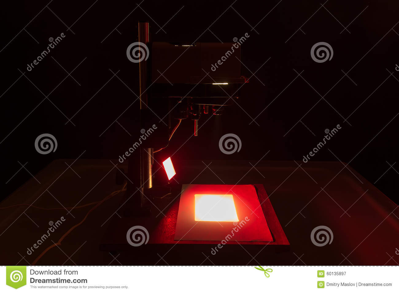Old Enlarger Stock Photo Image 60135897
