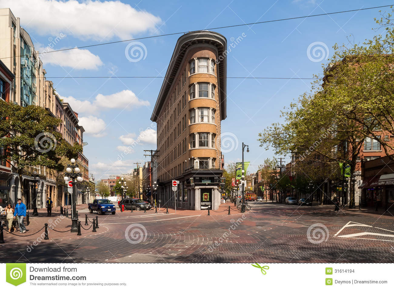 Old Europe Hotel Building In Vancouver Editorial Stock