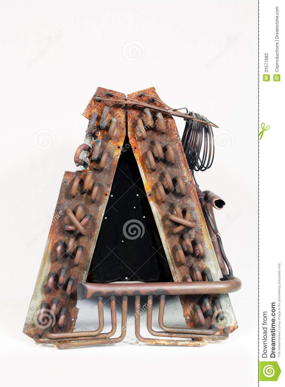 Old Evaporator Coil 10 Stock Photos Image 31577683