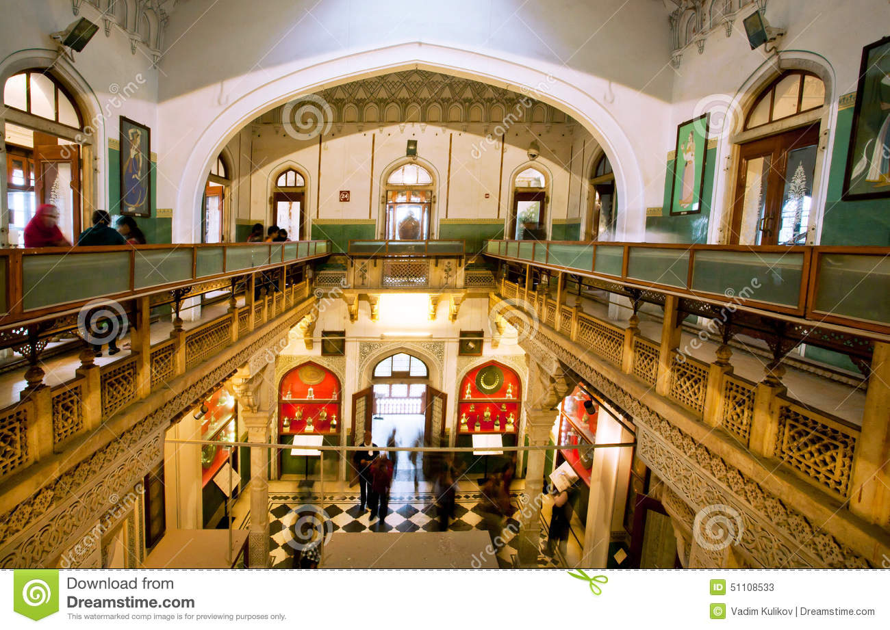 Old Exhibits Inside The Albert Hall Museum Editorial Stock Photo Image 51108533