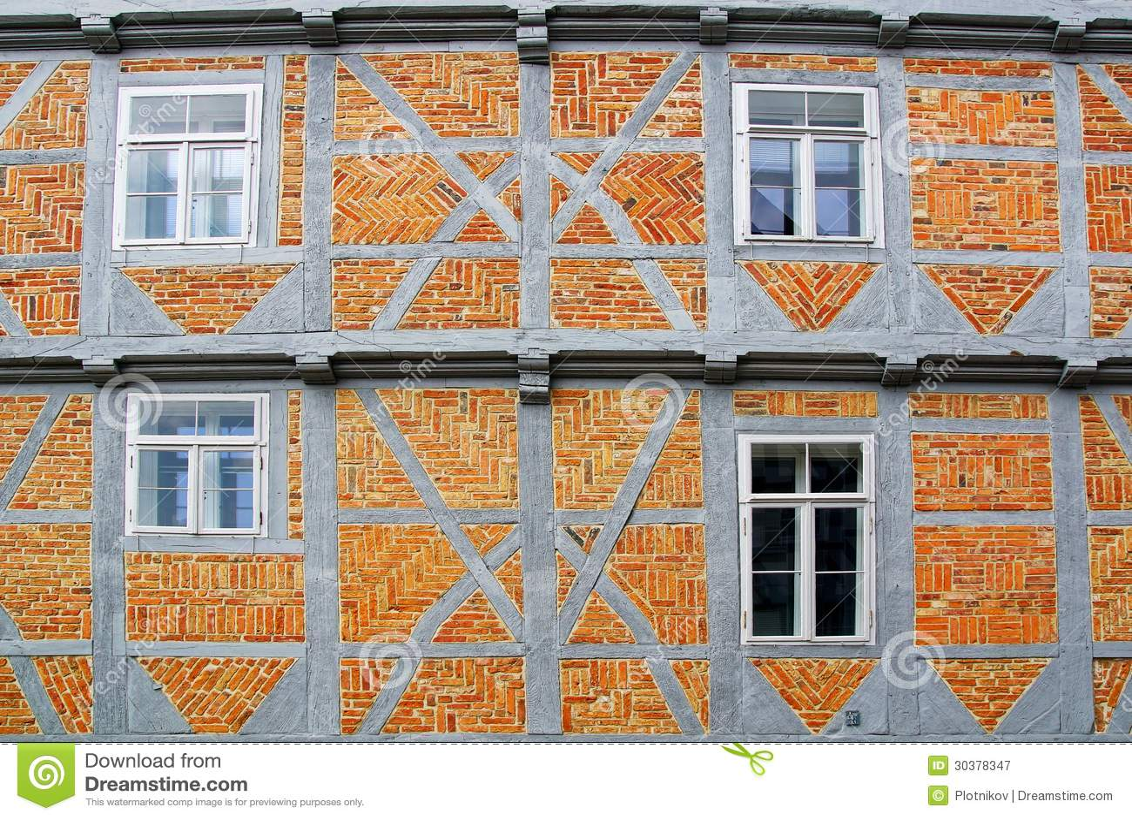Old fachwerk house in wolfenbuttel royalty free stock for 3d fachwerk