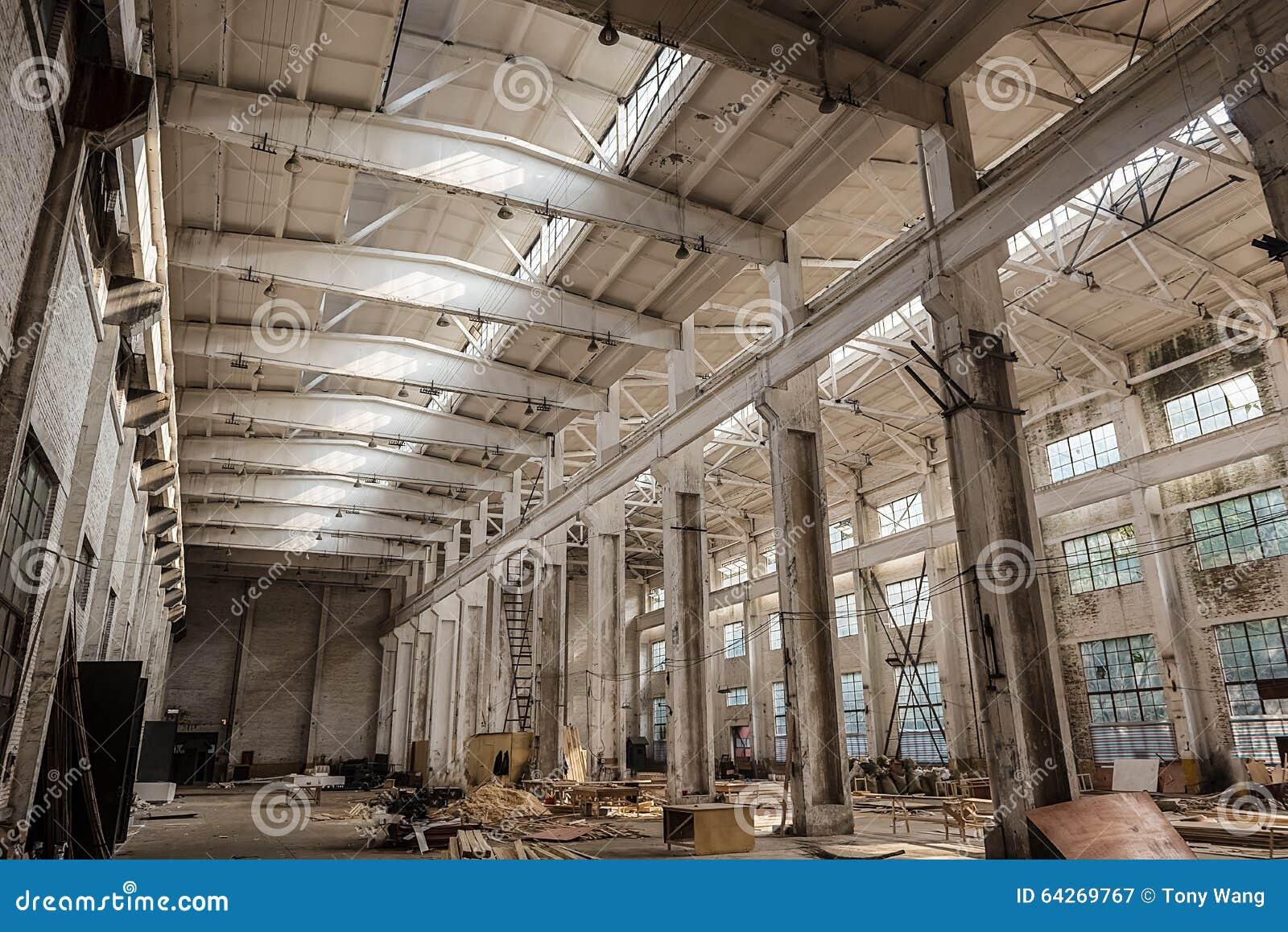 Old factories.