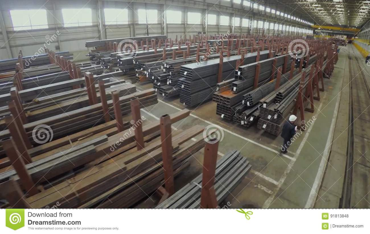 Industrial factory aluminum pipes