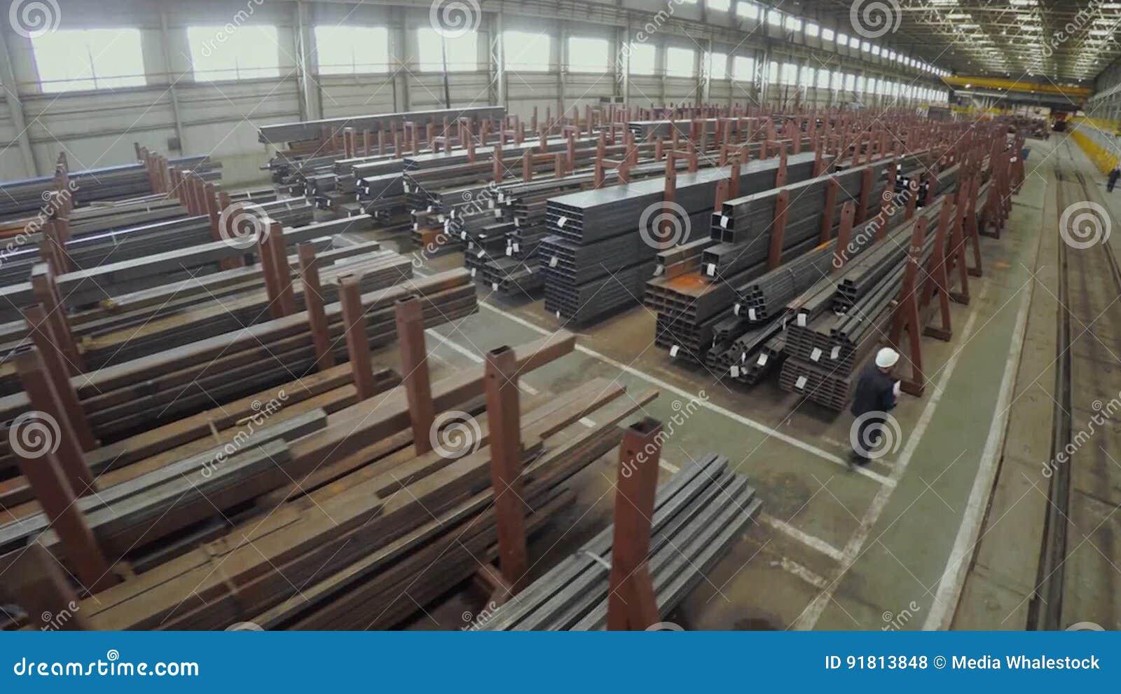 Produce factory aluminum pipes