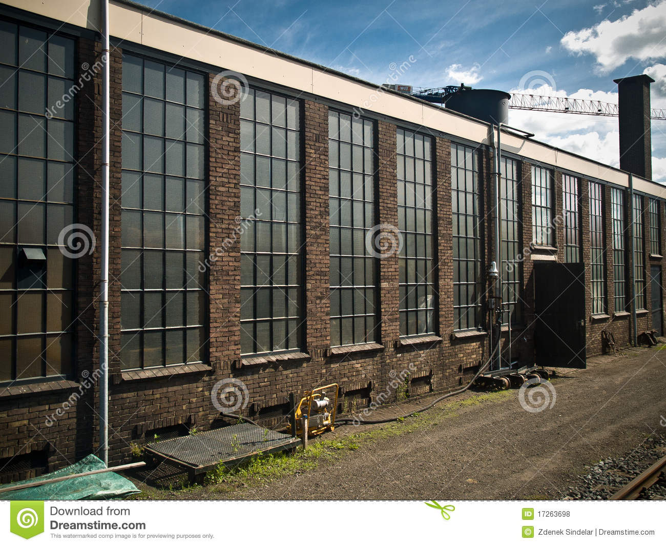 Old Factory Building Royalty Free Stock Photos - Image: 17263698 Old Factory Building