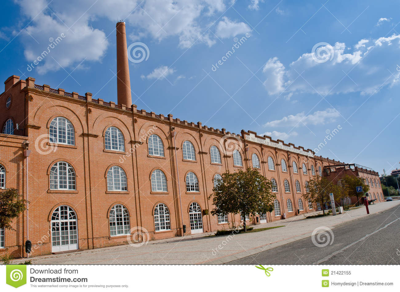 Old Factory Building Royalty Free Stock Photo - Image: 21422155 Old Factory Building