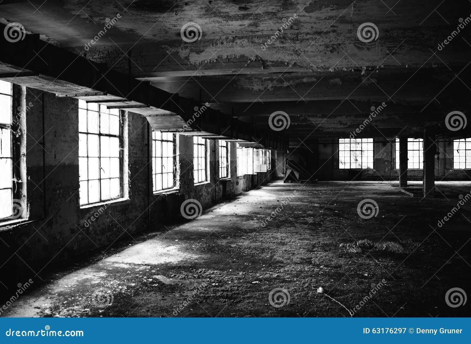 Old factory floor IV