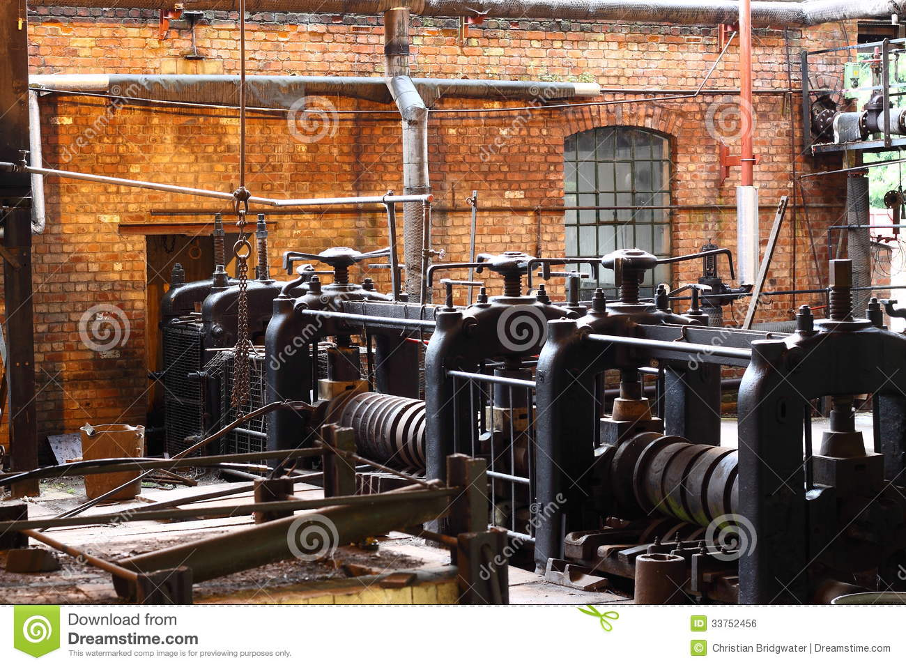Old Factory A Stock Photo Image Of Metalwork Machinery