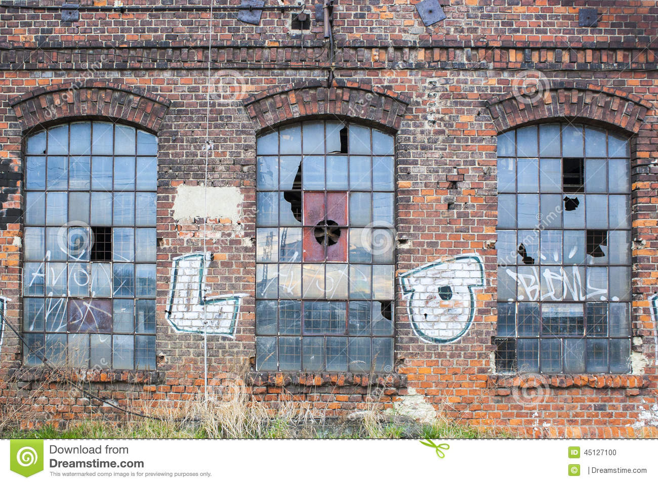 Commercial Building Floor Plans Free Old Factory Windows Stock Photo Image 45127100