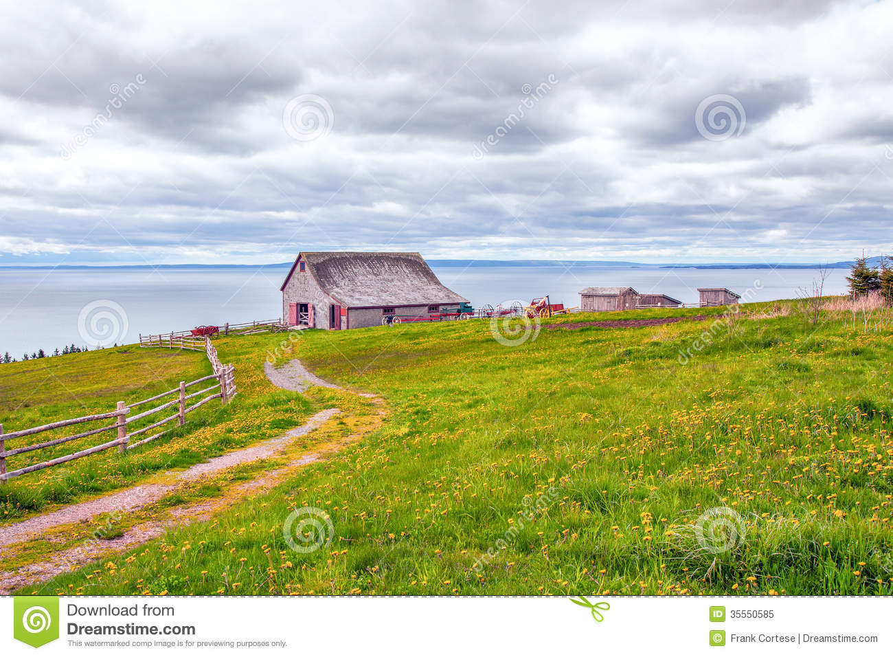 Old farm homestead stock image image of grass barn for Free homestead
