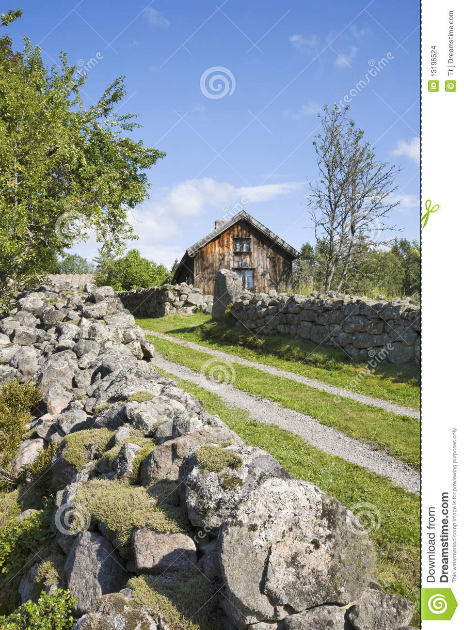 Landscaping Around An Old Farmhouse : Old farm landscape stock images image