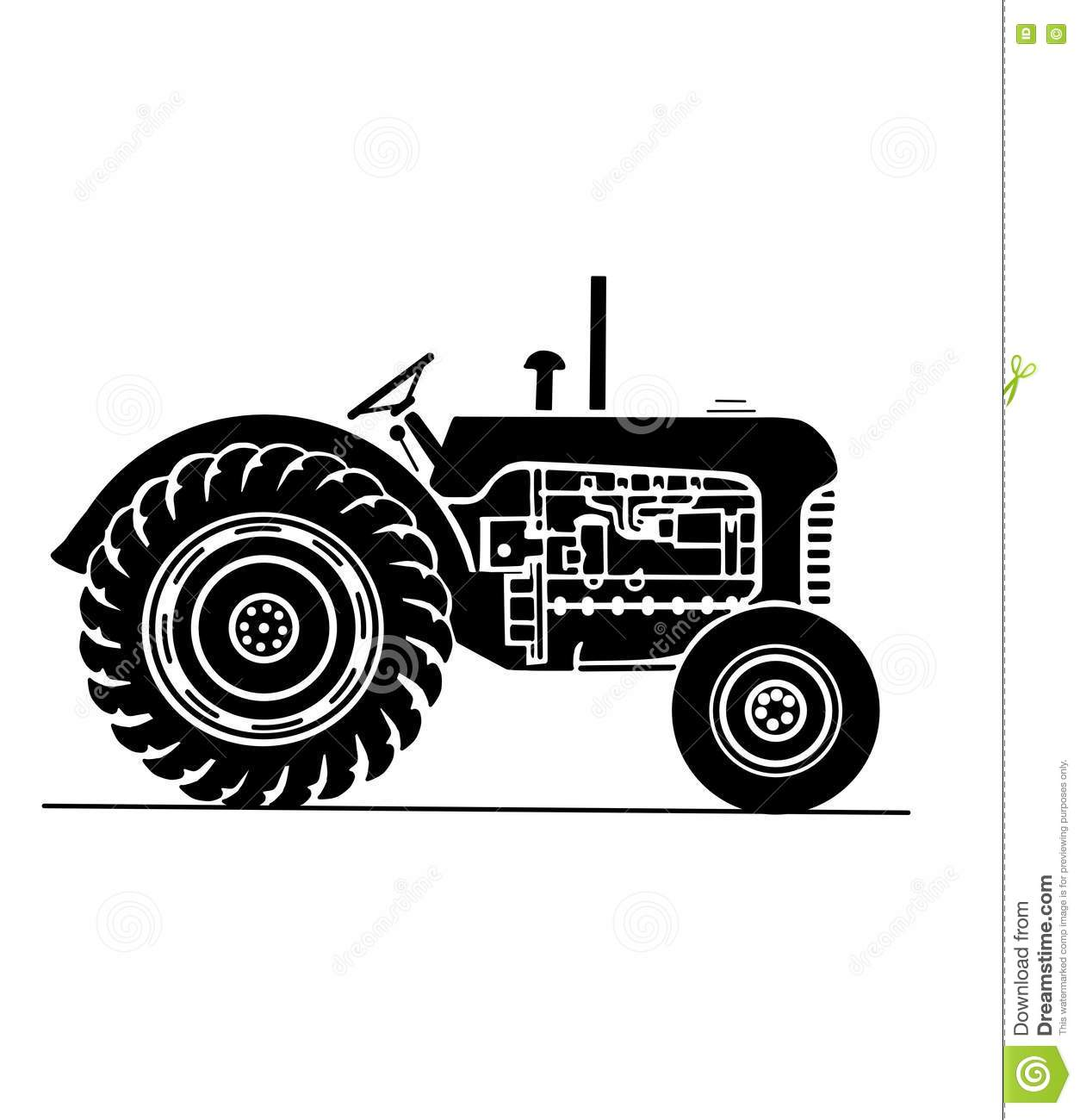 photos tractor Vintage transports farm of